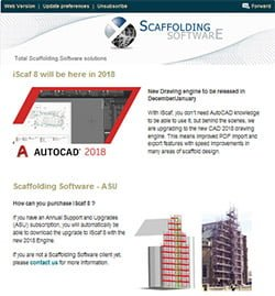 Scaffolding Software Newsletter #11